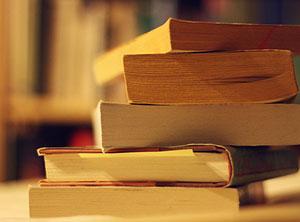dettaglio di libri